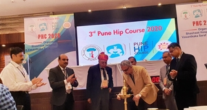 Dr. Hrushikesh Saraf at 3rd Pune Hip Course - Dr. Saraf's Joints Clinic | Karve Road , Pune