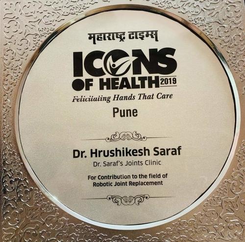 Health Icon- Dr Saraf|Dr. Saraf's Joints Clinic|Karve Road ,Pune